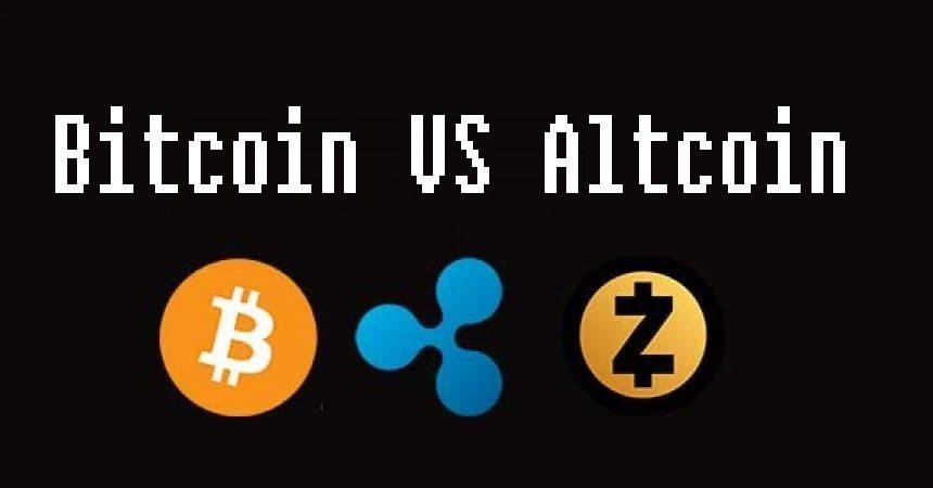 dominanta bitcoin vs altcoin